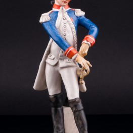 Фарфоровая статуэтка Офицер гвардии, 1786, Goebel, Германия.